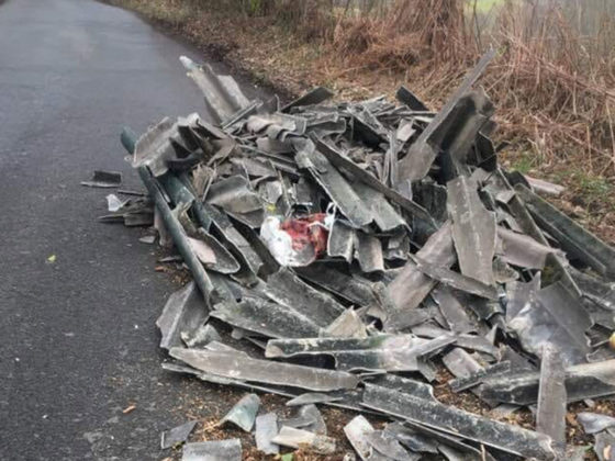 Asbestos-FLY-TIPPED